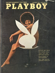 Bunny Chair, ca. 1971 Playboy, Designer Playboy, Oktober 1971 © Playboy Enterprises International, Inc.